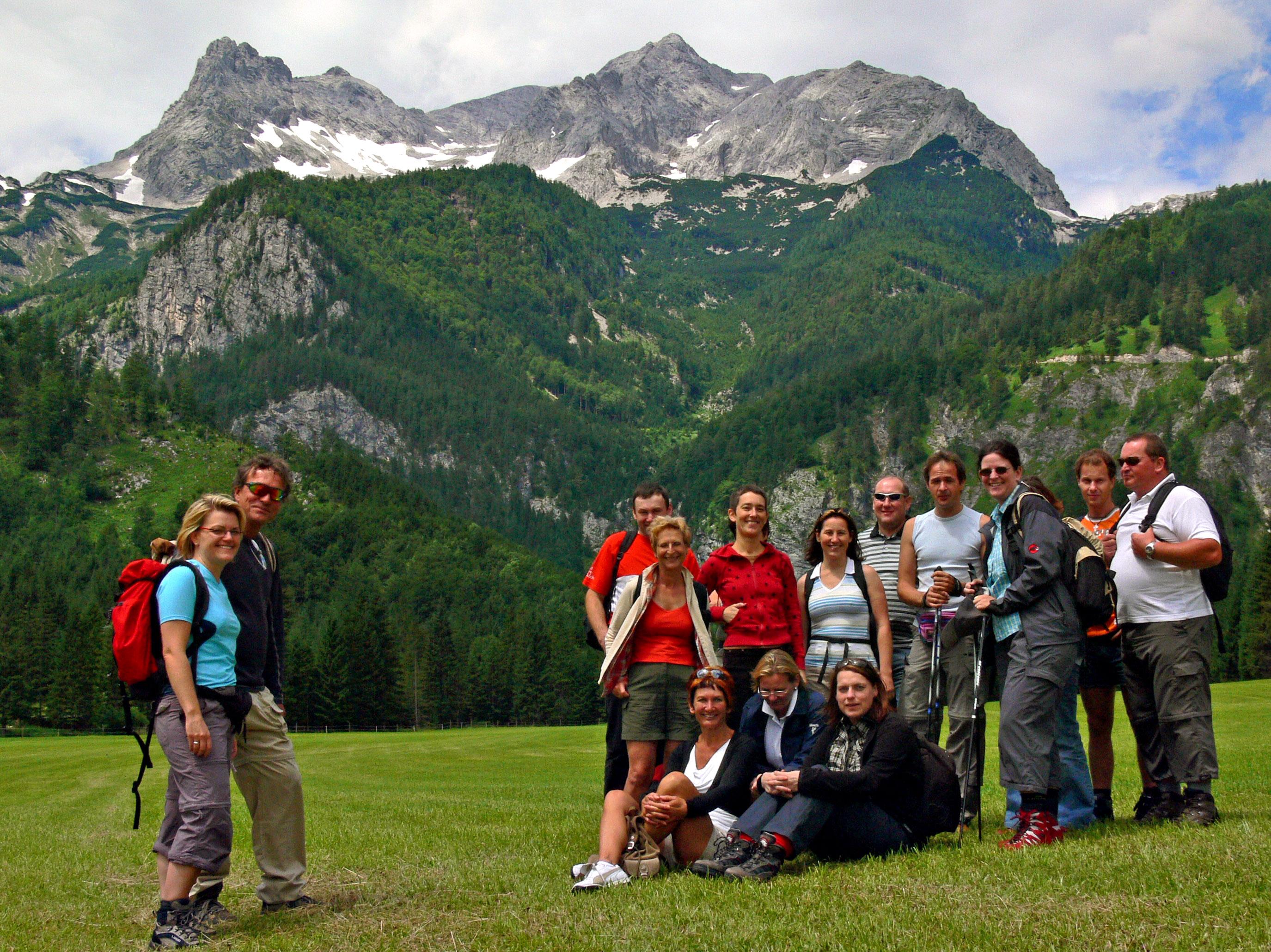 Singlewandern österreich