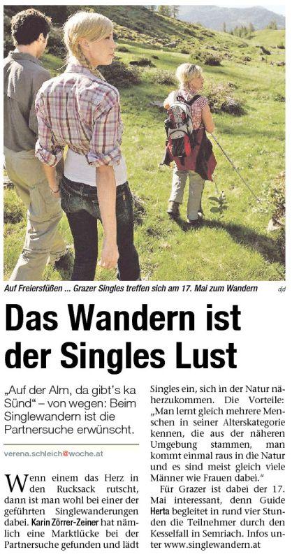 Single Wanderungen Steiermark - Christliche partnervermittlung in versoix