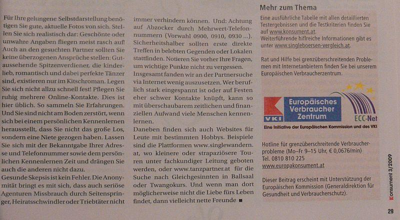 ... der kleinen Zeitung in Kärnten für den netten Artikel [zum Artikel